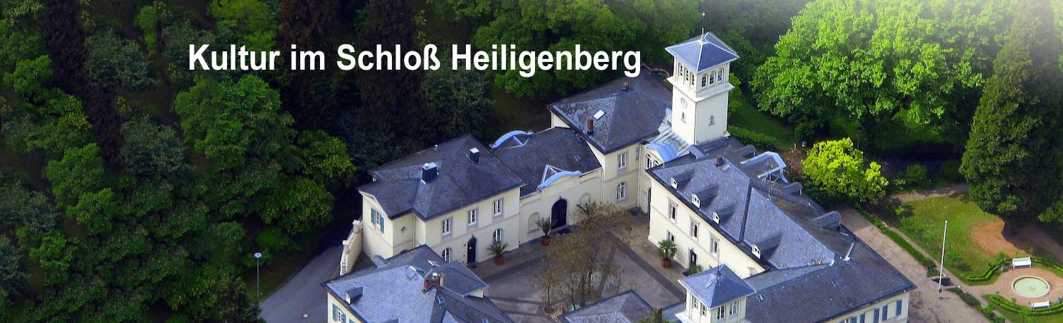 Luftaufnahmen- Schloss Heiligenberg Seeheim-Jugenheim bergstraße ...
